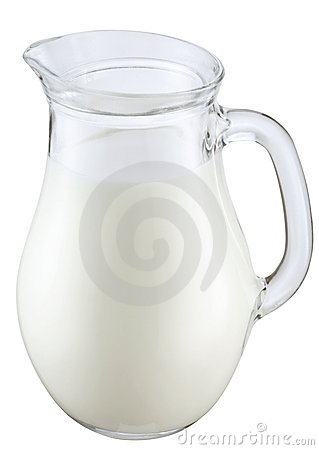 Jag Of Milk Royalty Free Stock Photography - Image: 13357207