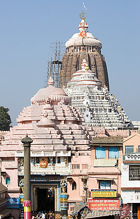 The Jagannath Temple in Puri Editorial Image