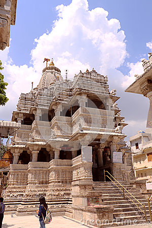 Jagdish Temple, Udaipur, Rajasthan Editorial Stock Photo