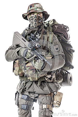 Free Jagdkommando Soldier Austrian Special Forces Stock Photos - 49480793
