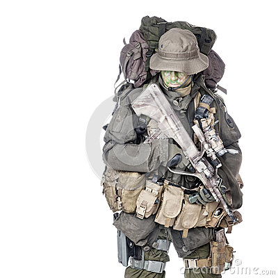 Free Jagdkommando Soldier Austrian Special Forces Royalty Free Stock Photos - 49480828