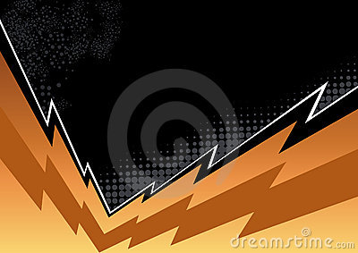 Jagged flash background