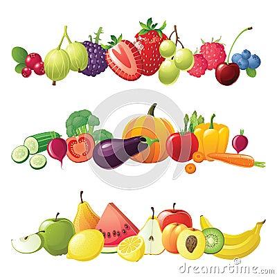 Jagod granic owoc warzywa