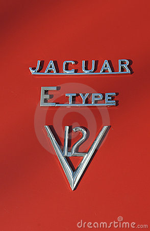 Jaguar E Type V12 Editorial Photo