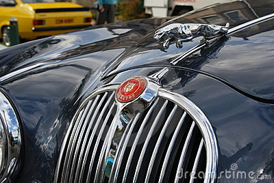Jaguar logo and emblem Editorial Stock Photo