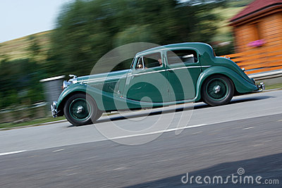 Jaguar MK IV Saloon Editorial Photography