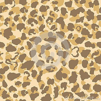 Free Jaguar Or Leopard Skin Pattern, Repeating Seamless Texture. Animal Print For Textile Design / Vector Illustration Royalty Free Stock Image - 108376456