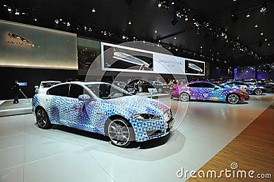 Jaguar pavilion Editorial Photo