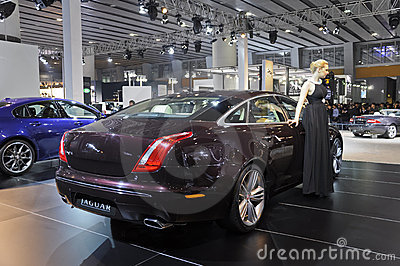 Jaguar XJ Editorial Stock Photo