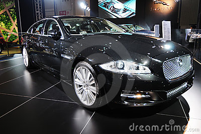 Jaguar xj 5.0l v8 Editorial Stock Image