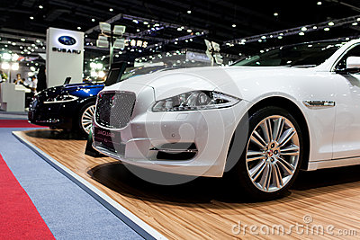 Jaguar xj Editorial Image