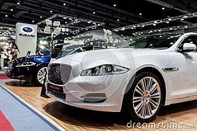 Jaguar xj Editorial Stock Image