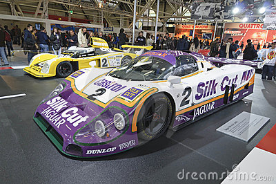 Jaguar XJR-9 LM 1988 Editorial Photo