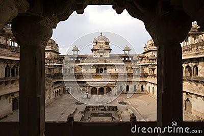 Jahangiri Mahal - Orchha - India