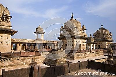 Jahangiri Mahal - Orchha - Madhya Pradesh - India