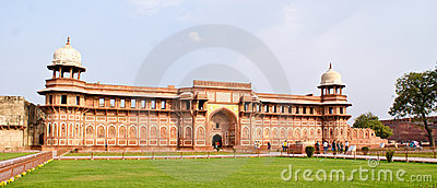 Jahangiri Mahal ,a palace in Agra Fort,Agra,India Editorial Photography