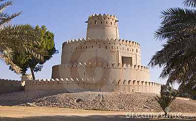 Jahili Fort - Round Tower