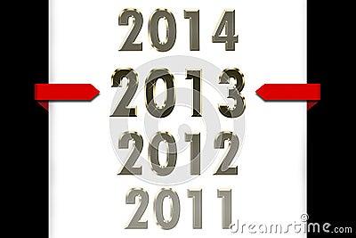 Jahr 2013