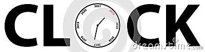 Jahr-Borduhr