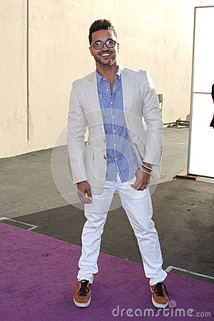 Jai Rodriguez arrives at the ABC / Disney International Upfronts Editorial Stock Photo