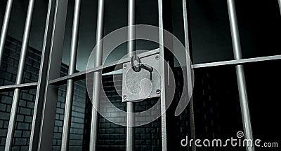 Jail Cell With Open Door
