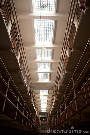 Free Jail House Cell Block Royalty Free Stock Image - 19785556