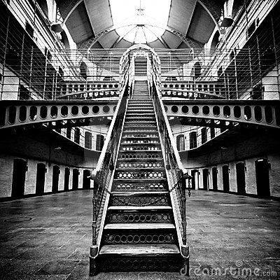 Free Jail Main Hall Royalty Free Stock Photo - 14948285