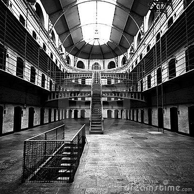 Free Jail Main Hall Stock Photography - 16047012