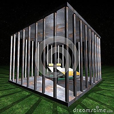Jail - Prison cell