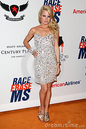 Jaimie Hilfiger arrives at the 19th Annual Race to Erase MS gala Editorial Stock Photo