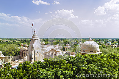 Jain Temple complex in Jaisalmer, Rajasthan, india