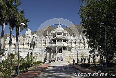 Jain Temple - Ranakpur - India Editorial Image