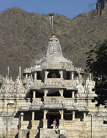 Jain Temple - Ranakpur - Rajasthan - India. Editorial Photo