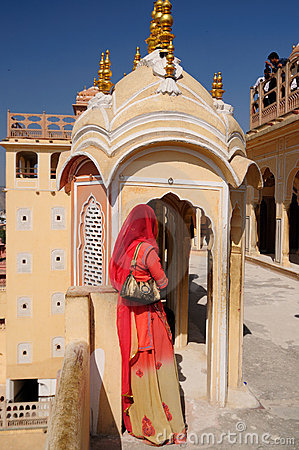 Jaipur - Hawa Mahal Palace Editorial Photography