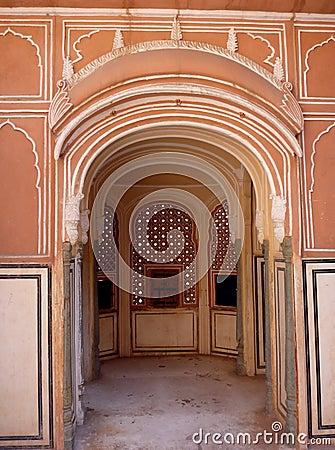 Jaipur Hawa Mahal palace, India