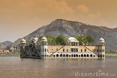 Jaipur - Jal Mahal - India