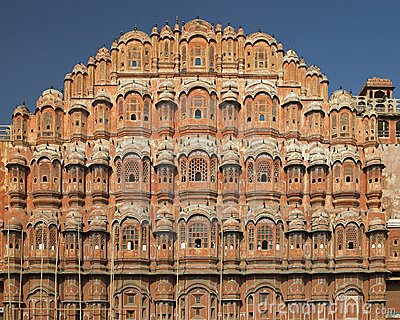 Jaipur - Palace of the Winds - India