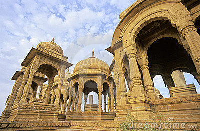Jaisalmer cenotaphs