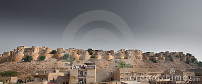 Jaisalmer Fort Editorial Stock Photo