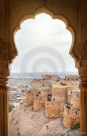 Free Jaisalmer Fort View Royalty Free Stock Photos - 55354938
