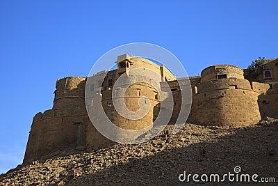 Jaisalmer in Rajasthan, India.
