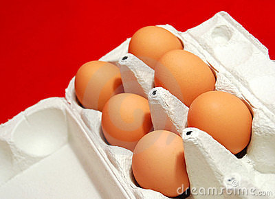 Jajka uwalniają pasmo