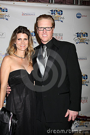 Jake Busey Editorial Stock Photo
