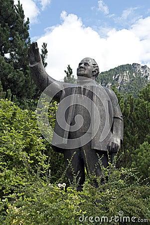 Jakob Aljaz statue