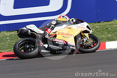 Jakub Smrz - Ducati 1098R - Team Effenbert Liberty Editorial Stock Photo