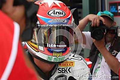 Jakub Smrz - Ducati 1098R - Team Effenbert Liberty Editorial Photo