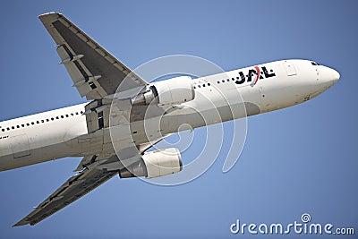 JAL Passenger Aircraft Editorial Photography