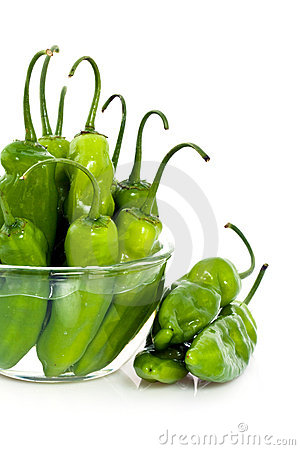 Free Jalapeno Peppers In Bowl Stock Image - 13857131