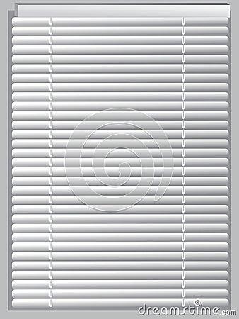 Jaloezies. vector illustratie