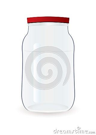 Jam jar empty